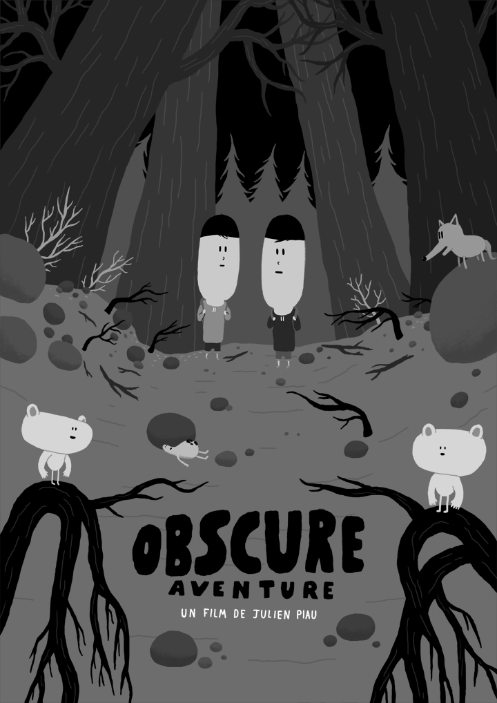affiche obscure aventure