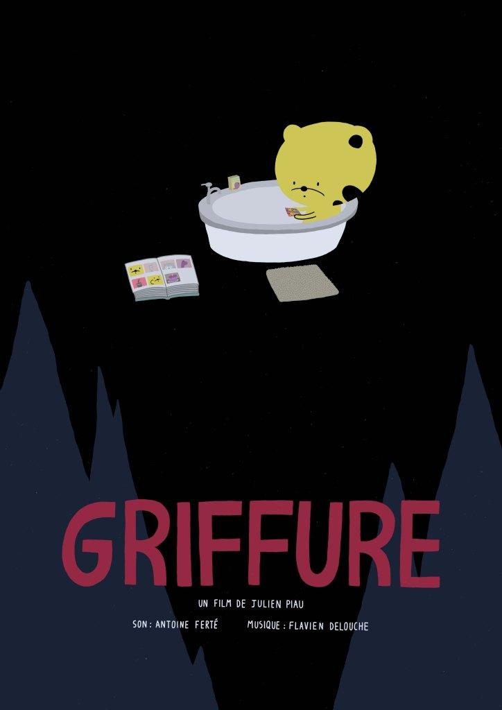 affiche, film, griffure, short film, poster